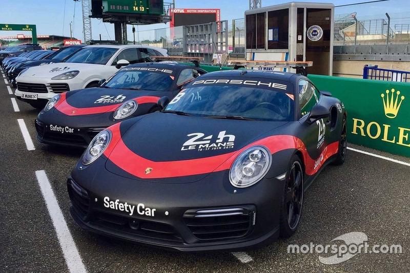 Porsche Le Mans güvenlik araçları