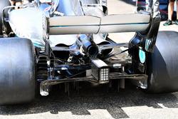 Arrière de la Mercedes-AMG F1 W09