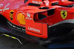 Déflecteurs de la Ferrari SF71H