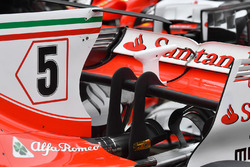 Ferrari SF70H: Heckflügel