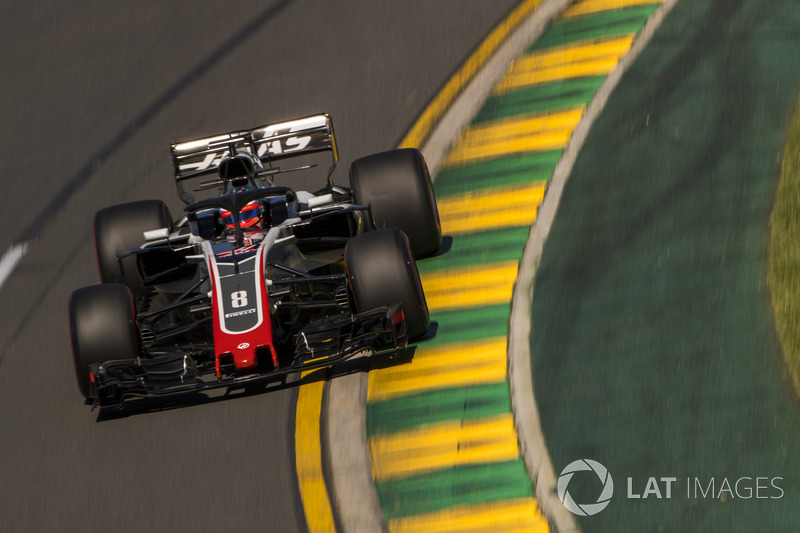 Romain Grosjean, Haas VF-18