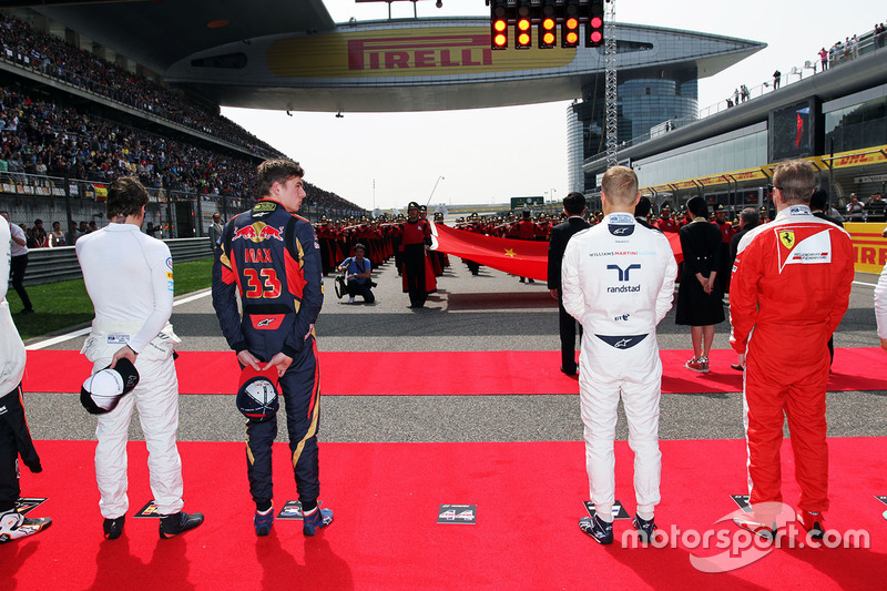 Max Verstappen, Scuderia Toro Rosso, Valtteri Bottas, Williams, Lewis Hamilton, Mercedes AMG F1 Team