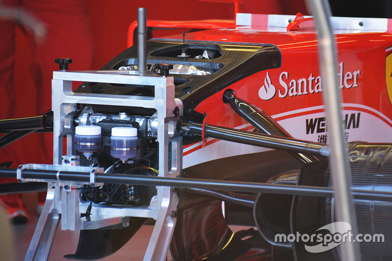 Detail, Ferrari SF16-H