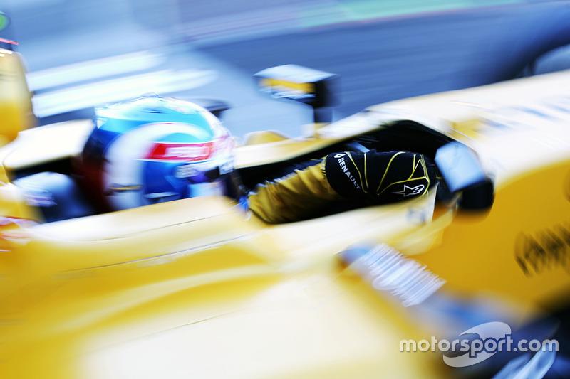 Jolyon Palmer, Renault Sport F1 Team RS16 lascia il box