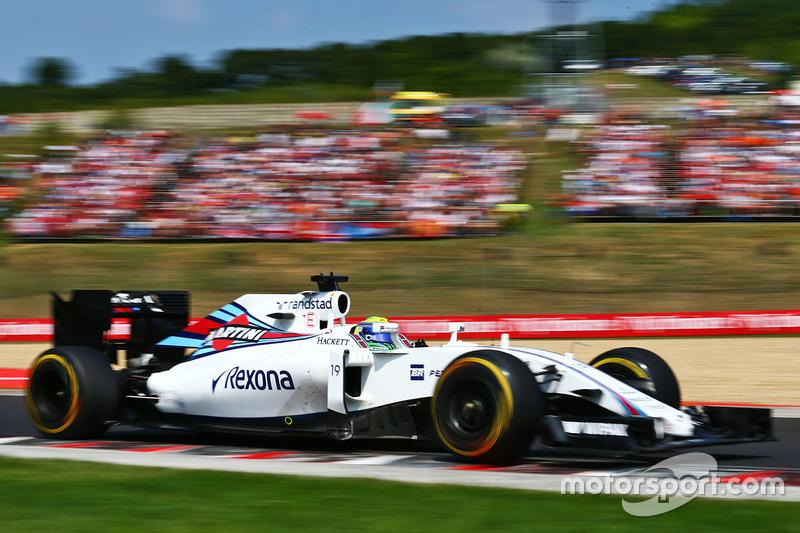18. Felipe Massa, Williams FW38
