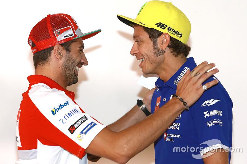 Andrea Iannone, Ducati Team, Valentino Rossi, Yamaha Factory Racing