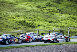Race Battle-VW Lamando,Ford Focus,Audi A3