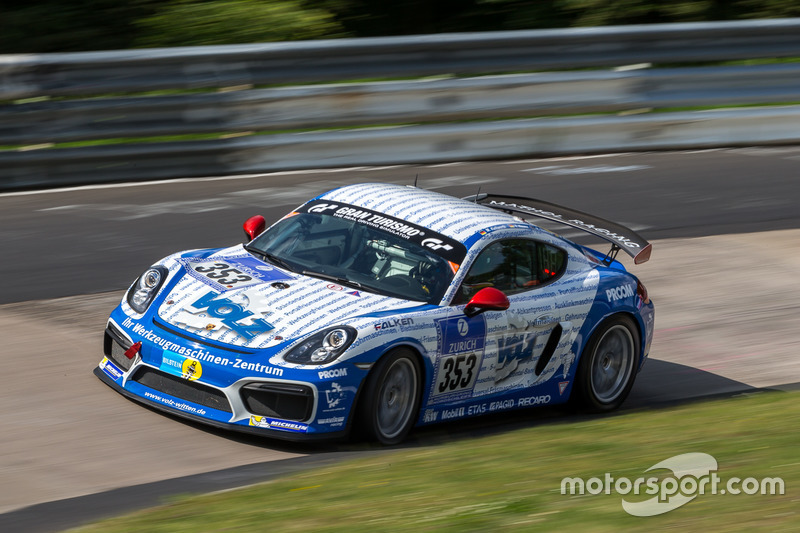 #353 Team Mathol Racing, Porsche Cayman: Marc Keilwerth, Volker Wawer