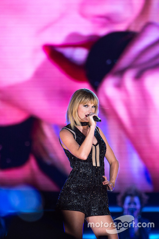 Taylor Swift, Singer, performs a concert at COTA. 22.10.2016. Formula 1 World Championship, Rd 18,