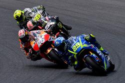 Andrea Iannone, Team Suzuki MotoGP, Dani Pedrosa, Repsol Honda Team