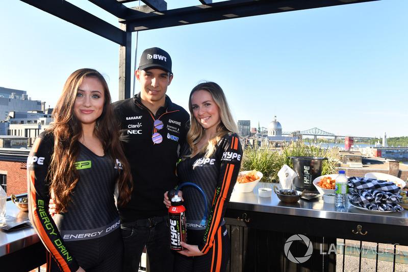 Естебан Окон, Sahara Force India F1, дівчата