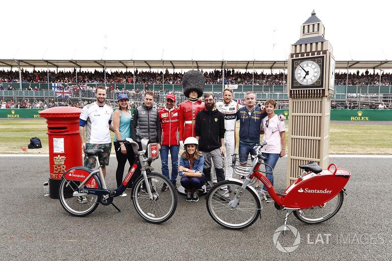 Стоффель Вандорн, McLaren, Марк Жене, Ferrari, Дженсон Баттон, McLaren, Наталі Пінхем