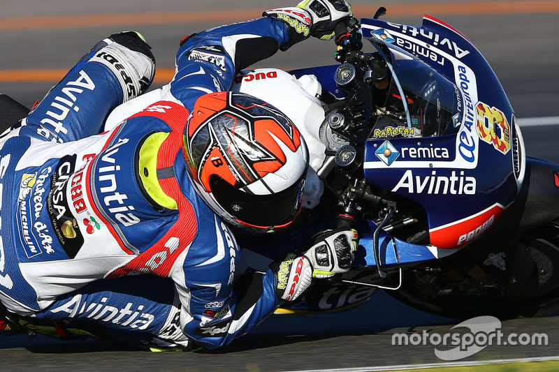 Hector Barbera, Avintia Racing at Valencia November testing
