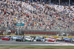 Austin Dillon, Richard Childress Racing Chevrolet Justin Allgaier, JR Motorsports Chevrolet