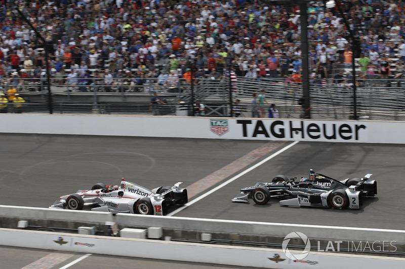 Інді-500: Вілл Пауер, Team Penske Chevrolet Джозеф Ньюгарден, Team Penske Chevrolet