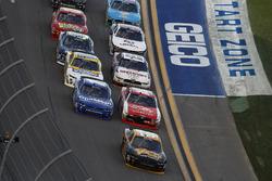 Brendan Gaughan, Richard Childress Racing Chevrolet leads