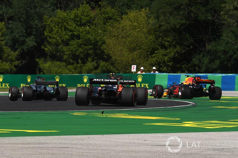 Даніель Ріккардо, Red Bull Racing RB13, після аварії