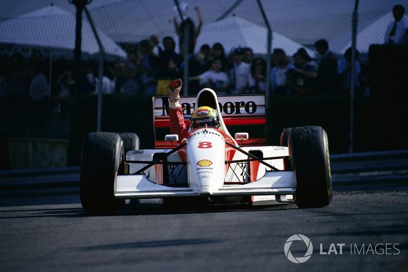 Ayrton Senna, GP de Mônaco (6x: 1987, 1989-1993)