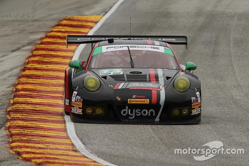 #73 Park Place Motorsports Porsche GT3 R: Патрік Ліндсі, Йорг Бергмайстер