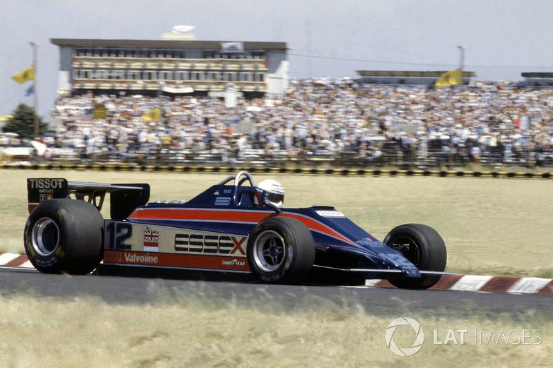 9. Элио де Анжелис – второе место на Гран При Бразилии 1980 года