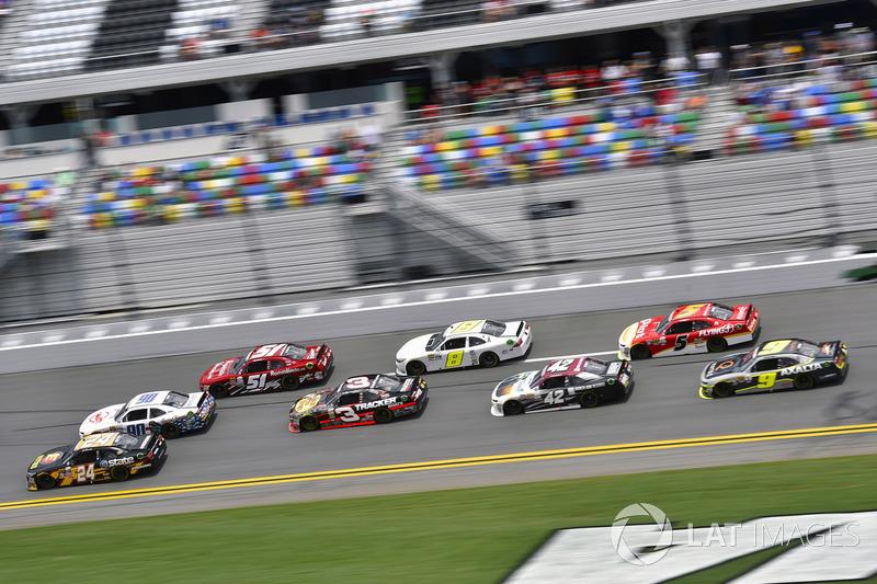 Jeb Burton, JGL Racing Toyota,