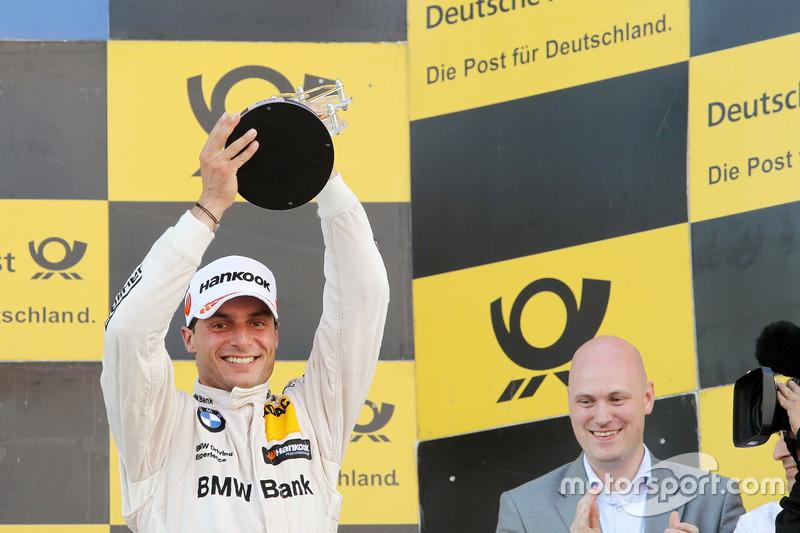 Podium: third place Bruno Spengler, BMW Team RBM, BMW M4 DTM