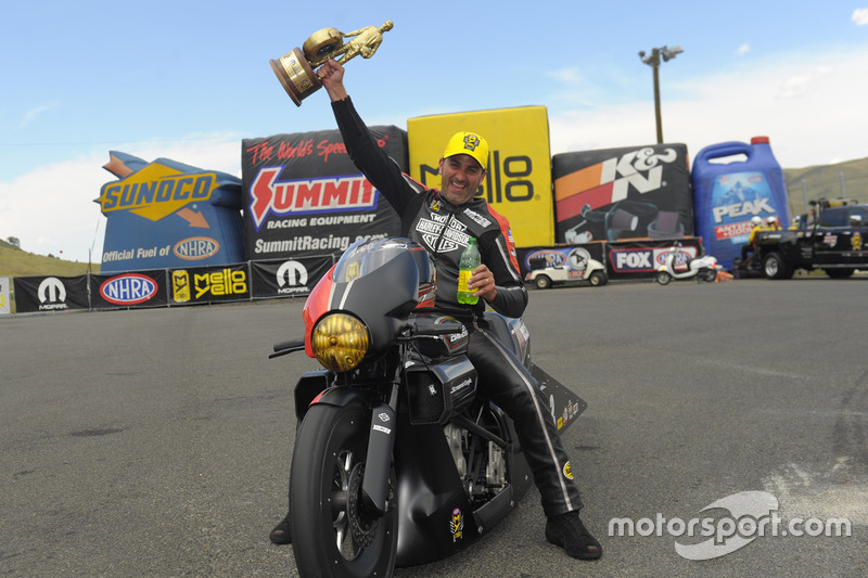 1. Pro Stock Bike: Eddie Krawiec