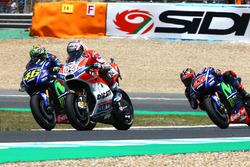 Валентино Росси, Yamaha Factory Racing, Андреа Довициозо, Ducati Team, Маверик Виньялес, Yamaha Factory Racing