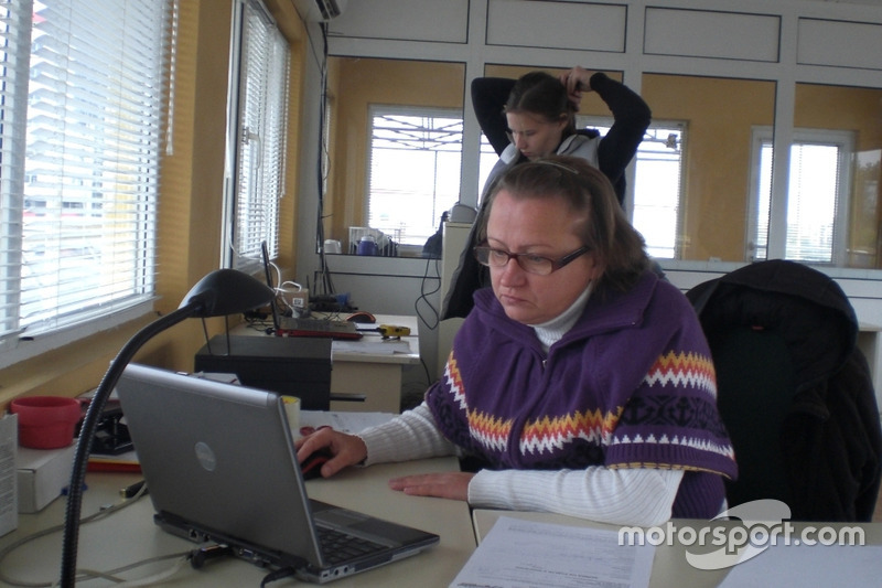 Головний секретар гонки Тетяна Хмельницька