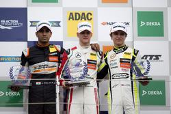 Rookie Podium: 1. Mick Schumacher, Prema Powerteam, Dallara F317 - Mercedes-Benz; 2. Jehan Daruvala,