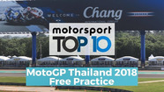 Top 10 Highlights Free Practice | MotoGP Thailand2018