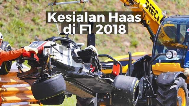 Kesialan Haas di F1 2018 | Racing Stories