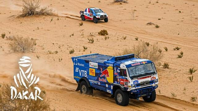 Dakar 2021: Etappe 7 Highlights - Trucks