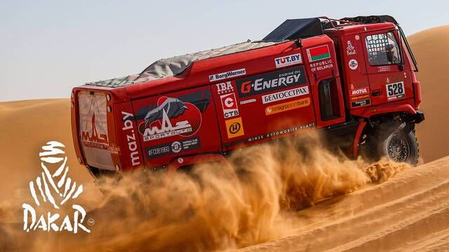 Rallye Dakar 2020: Highlights Trucks Etappe 7