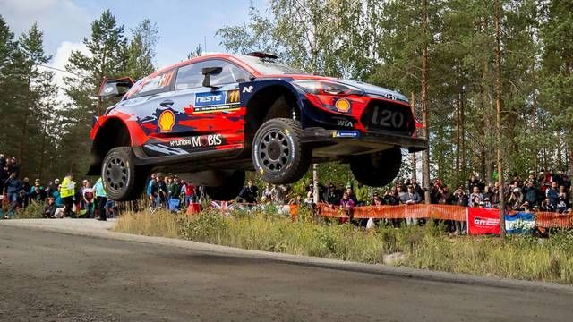 WRC: Rally Finland SS20-22