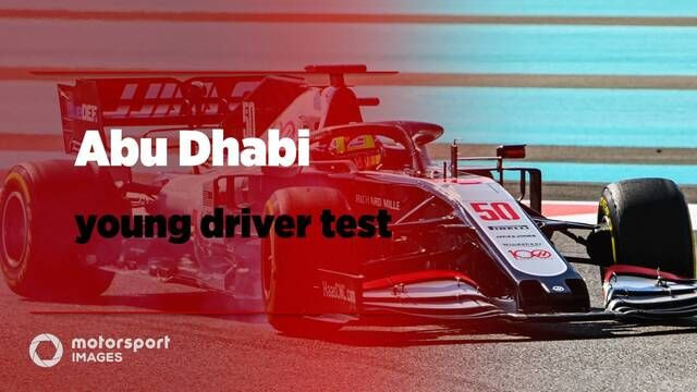 In foto's: De Abu Dhabi Young Driver test