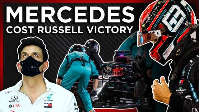 How Did Mercedes Throw Away Russell's Win?