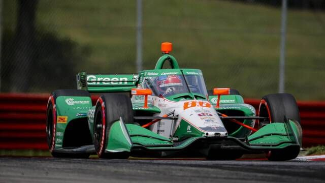 IndyCar: Honda Indy 200 at Mid-Ohio Race 2 - Colton Herta wins