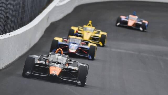 IndyCar: Push-to-Pass test