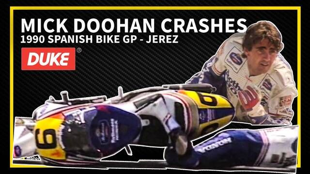 Jerez 1990 : Le surprenant accident de Mick Doohan