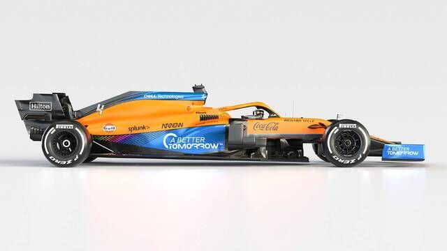 McLaren MCL35M and McLaren MCL35 Compared