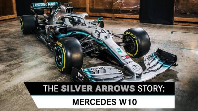 The Silver Arrows Story: Mercedes W04