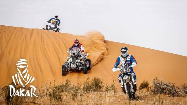 Dakar 2020: Day 6 Highlights - Bikes and Quads