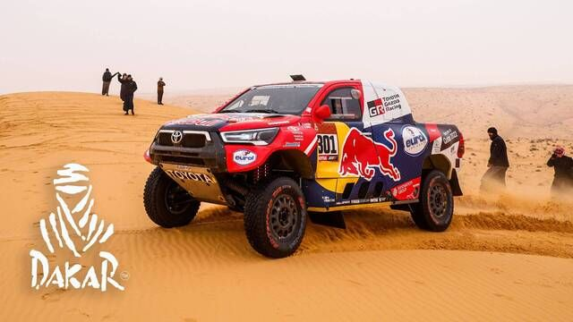 Dakar-Highlights 2021: Etappe 7 - Autos