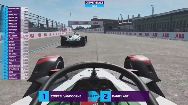 Formula E Race at Home Challenge: Round 5 - Battle for the Lead