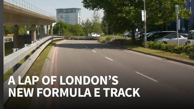 Exclusive first look around London's new Formula E track