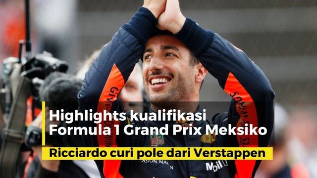 Highlights kualifikasi | Hasil F1 GP Meksiko 2018