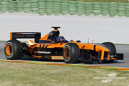 Arrows unveil A23 at Albert Park