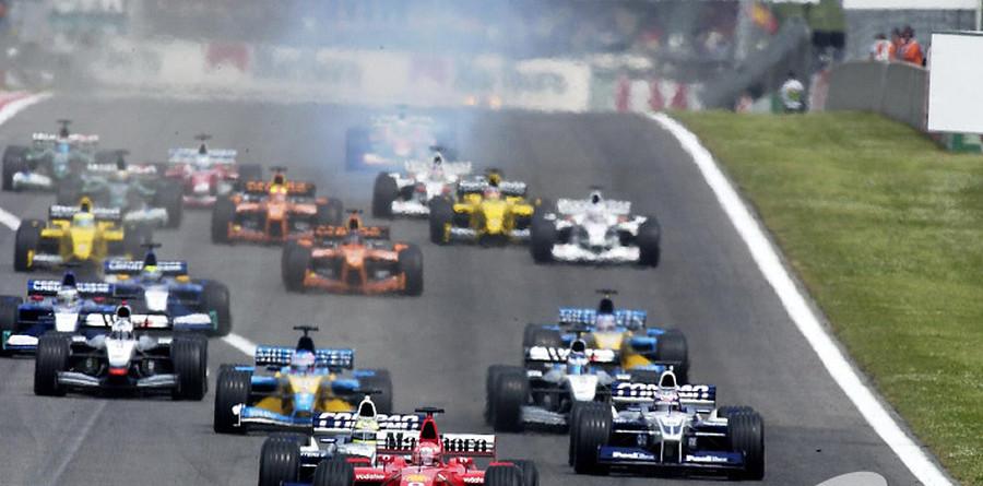 Schumacher wins problematic Spanish GP