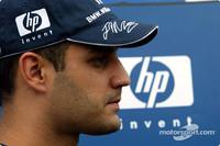 Barrichello main rival for Montoya